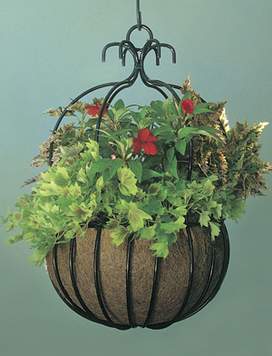 Decorative 18 imperial hanging planter for Colorful hanging planters
