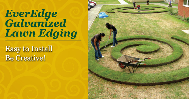 EverEdge Lawn Edging-Galvanized Steel Lawn Edging