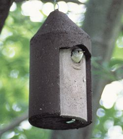 1 1/2 FREE HANGING BIRDHOUSE