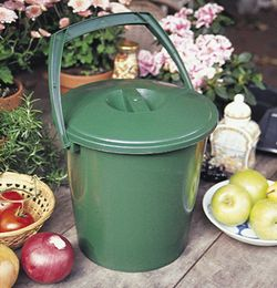 2 GALLON COMPOST BUCKET W/ LID