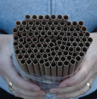 REPLACEMENT MASON BEE HOUSE TUBES (100 TUBES)