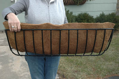 "30"" Hayrack Coco Liner (For KC17 Planter)"