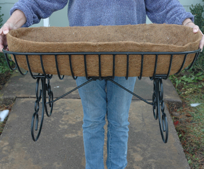 COCO LINER FOR LARGE CRADLE/TROUGH PLANTER(KC64)