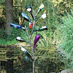 Fabulous Fun Bottle Tree