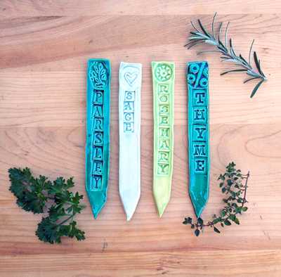 HERB LABELS - CLASSIC SET