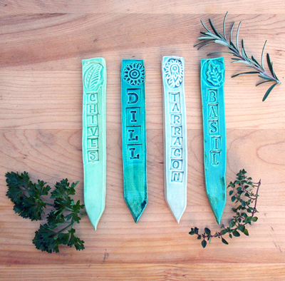 HERB LABELS - SALAD SET