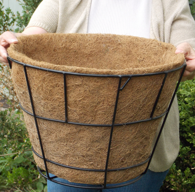 16 Inch Double Basket Replacement Plant Liners Kinsman