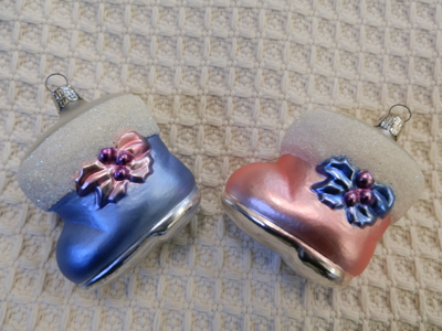 BABY'S BOOTIES ORNAMENT COLLECTION