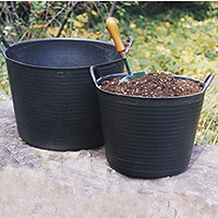 Black Trug Tub Set