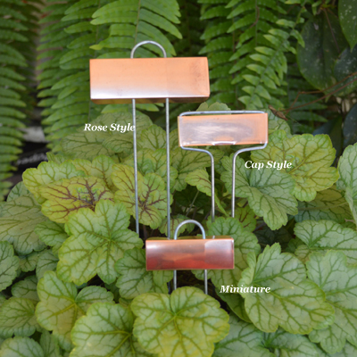 Rose Style Copper Markers