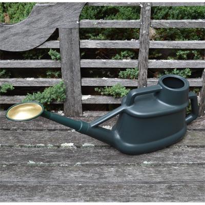 Long Reach Watering Can with Brass Rose