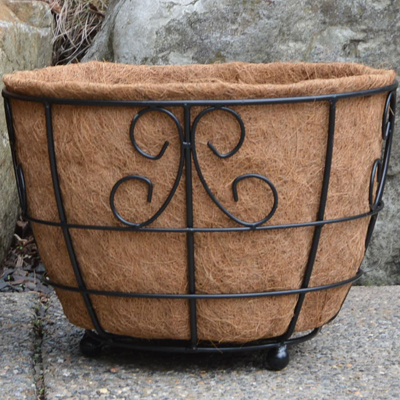 "Coco Liner for 17"" Designer Patio Planter"