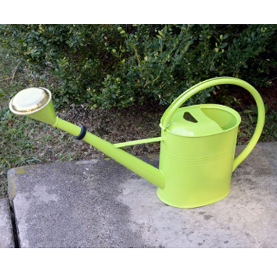 Large Lime Green Oval Watering Can