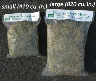 LARGE BAG OREGON MOSS