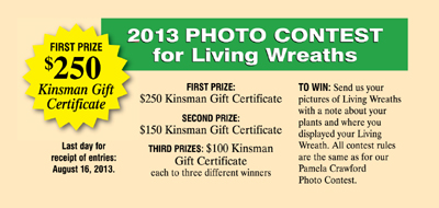 Living Wreath Photo Contest
